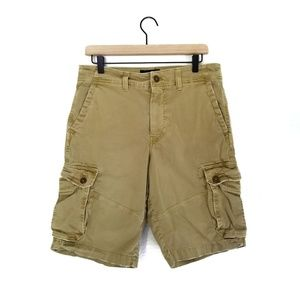 American Eagle Extreme Flex Distressed Cargo Short